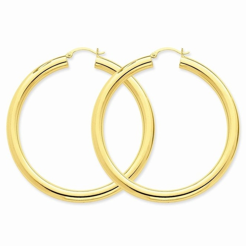 Tube Hoop Earrings by Icecarats in Tomorrow Never Dies
