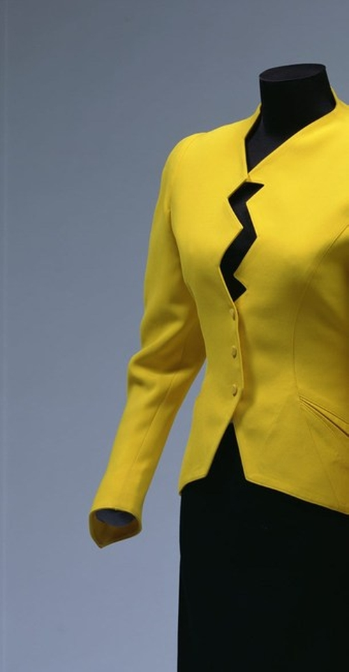 Fall 1988 Yellow Jacket by Thierry Mugler in Sex and the City