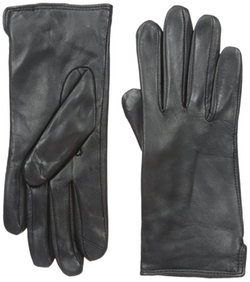 Side Vent Leather Gloves by Touchpoint in The Flash