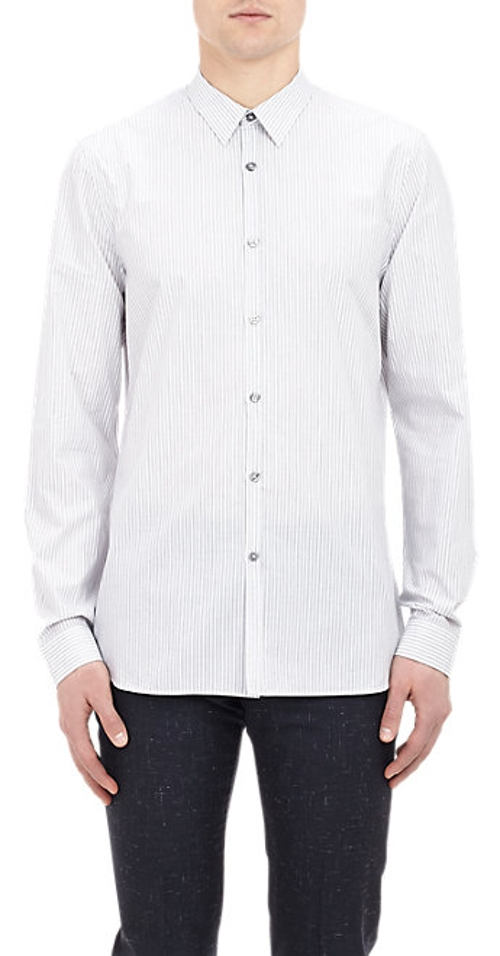 Bengal-Stripe Shirt by Paul Smith Exclusive in Self/Less