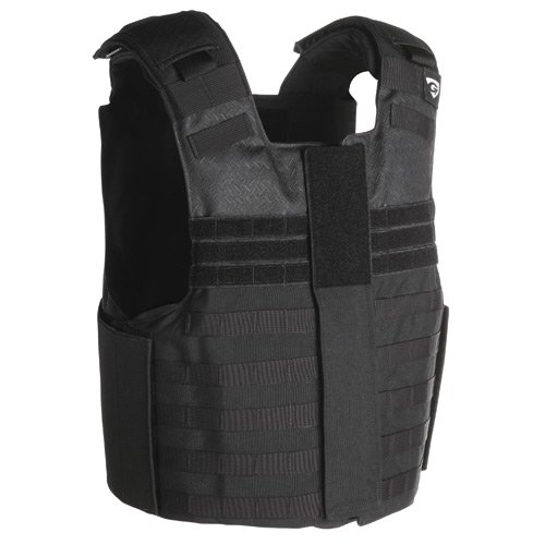 NIJ 06 SMG Front Opening IIIA Vest by Point Blank in The Gunman