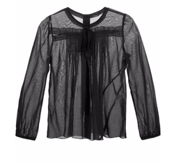 Pleated Voile Blouse by Marc Jacobs in Pretty Little Liars