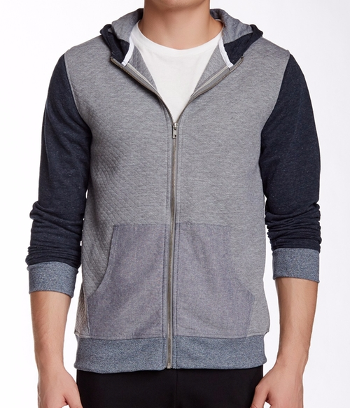 Chalmers Quilted Zip Hoodie Jacket by Sovereign Code in Teen Wolf - Season 5 Looks