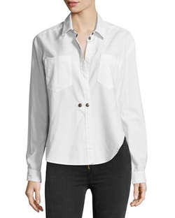 Hideaway Long-Sleeve Shirt by McGuire in The Bachelorette