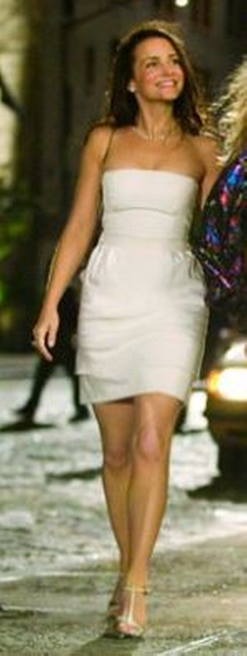 Strapless Cocktail Dress by Vicky Tiel in Sex and the City