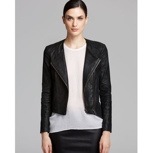 Patina Leather Jacket by Helmut Lang in Brooklyn Nine-Nine