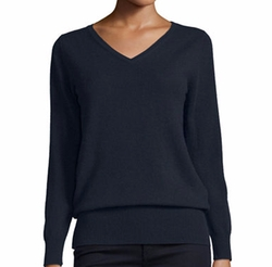 V-Neck Relaxed-Fit Cashmere Sweater by Neiman Marcus Cashmere Collection in Billions