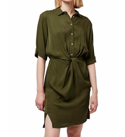 Twist Front Shirtdress by Topshop in The Flash