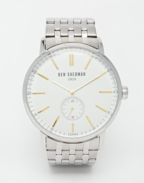 Stainless Steel Watch by Ben Sherman in The Good Wife - Season 7 Episode 3