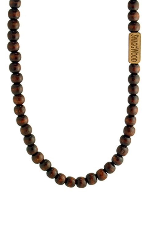 Wood Bead Necklace by SwaggWood in Entourage
