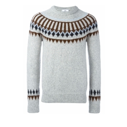 Scandinavian Crew Neck Sweater by AMI in Master of None