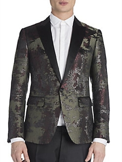London Military Jacquard Jacket by DSQUARED2 in Suicide Squad