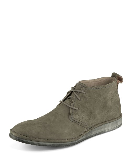 Parkchester Suede Chukka Boots by Andrew Marc in That Awkward Moment