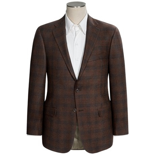 Worsted Wool Sportcoat by Hickey Freeman in Spy