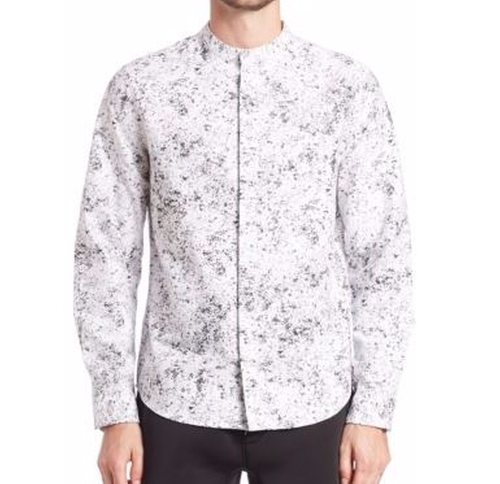 Long Sleeve Printed Shirt by Saks Fifth Avenue x Anthony Davis in Power Rangers