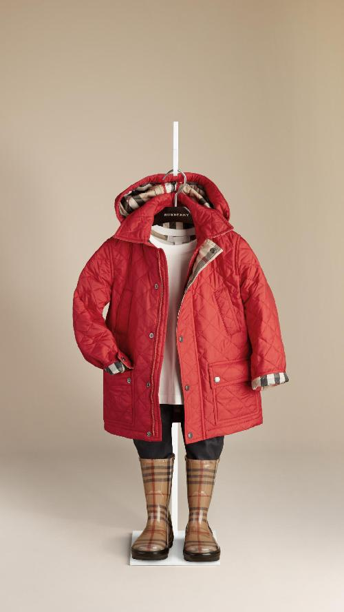 DIAMOND QUILTED JACKET by Burberry in Iron Man 3