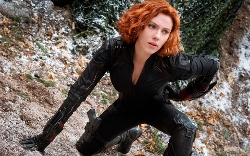 Custom Made Natasha Romanoff / Black Widow Costume (Scarlett Johansson) by Alexandra Byrne (Costume Designer) in Marvel's The Avengers