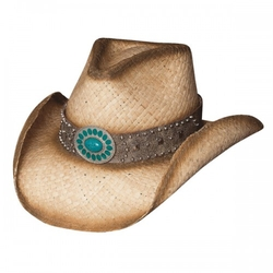 Shapeable Straw Cowboy Hat by Bullhide in The Longest Ride