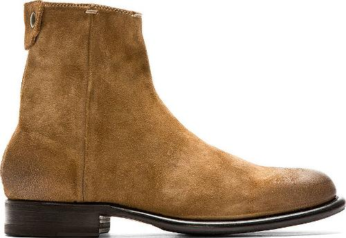Brown Suede Claude Mid Zip Boots by PS By Paul Smith in The Disappearance of Eleanor Rigby