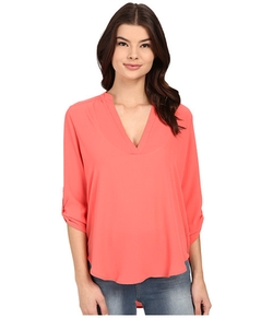 Channing V-Neck Blouse by Brigitte Bailey in Modern Family