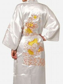 Silk Satin Robe by Jinjin Li's Store in American Horror Story
