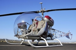 47 Bubble Helicopter by Bell in The Man from U.N.C.L.E.