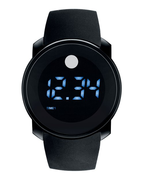 Bold Digital Touch-Screen Watch by Movado in Begin Again