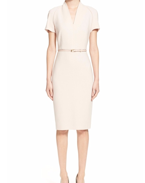 Curvato Dopio Crepe Dress by Max Mara in Suits