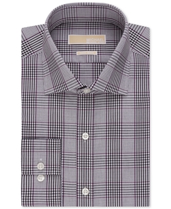 Multi Plaid Dress Shirt by Michael Michael Kors in New Girl