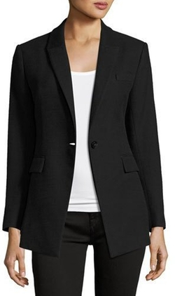 Etiennette Item Canvas Sport Jacket by Theory in Designated Survivor