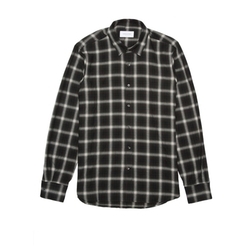 Max Black Plaid Shirt by Ovadia & Son in Animal Kingdom