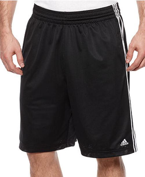 Triple Up Mesh Basketball Shorts by Adidas Basketball in Couple's Retreat