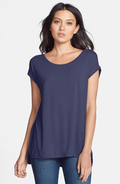 High/Low Knit Tunic Top by Stem in Crazy, Stupid, Love.