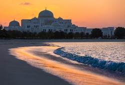 Abu Dhabi, United Arab Emirates by Emirates Palace in Furious 7