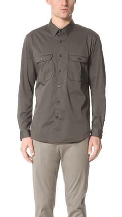 Dawsey Berke Shirt by Theory in Empire