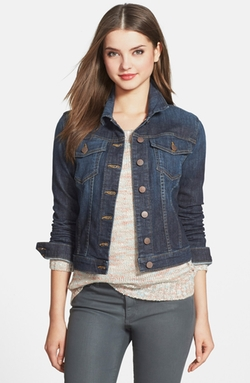 'Helena' Denim Jacket by Kut From The Kloth in The Vampire Diaries