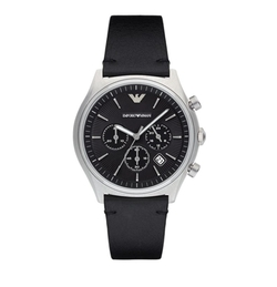 Quartz Cronograph Watch by Emporio Armani in Daddy's Home 2