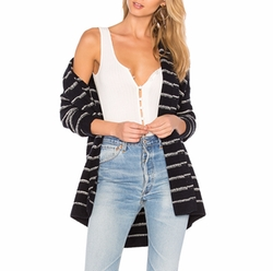 Stripe Cardigan by Vince in Grace and Frankie