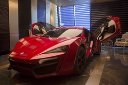 Lykan Hypersport Coupe by W Motors in The Fate of the Furious