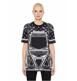 Geometric Stars Cotton Short Sleeved T-Shirt by Givenchy in Why Him?