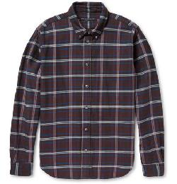DOUBLE-FACED PLAID COTTON-FLANNEL SHIRT by MARC BY MARC JACOBS in Oculus