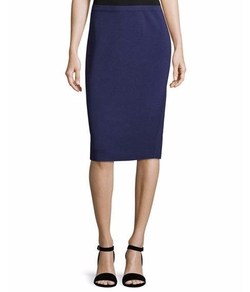 Silk-Cotton Pencil Skirt by Eileen Fisher in Lethal Weapon