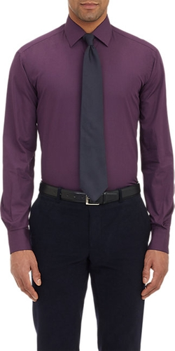 Poplin Dress Shirt by Piattelli in Billions
