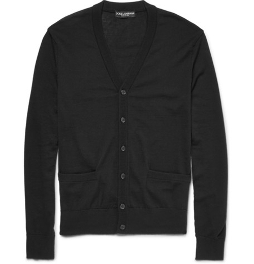 Wool Cardigan by Dolce & Gabbana in Youth