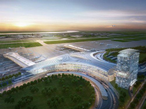 Louis Armstrong International Airport New Orleans, Louisiana in Jurassic World