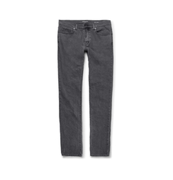 Slim-Fit Hem Stretch-Denim Jeans by Saint Laurent in Keeping Up With The Kardashians