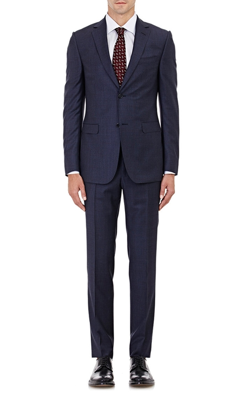 Worsted Two-Button Suit by Z Zegna in Suits - Season 5 Episode 3