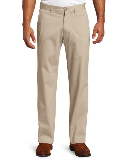 Men's Cadet Cotton Stretch Pants by Faconnable in Black or White