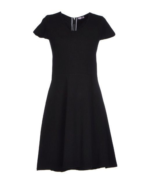 Round Collar Short Dress by Rossopuro in The Best of Me