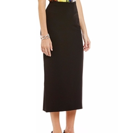 Stretch Crepe Column Midi Skirt by Kasper in Designated Survivor
